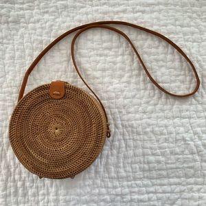Handbags - Bali Rattan Roundie Bag